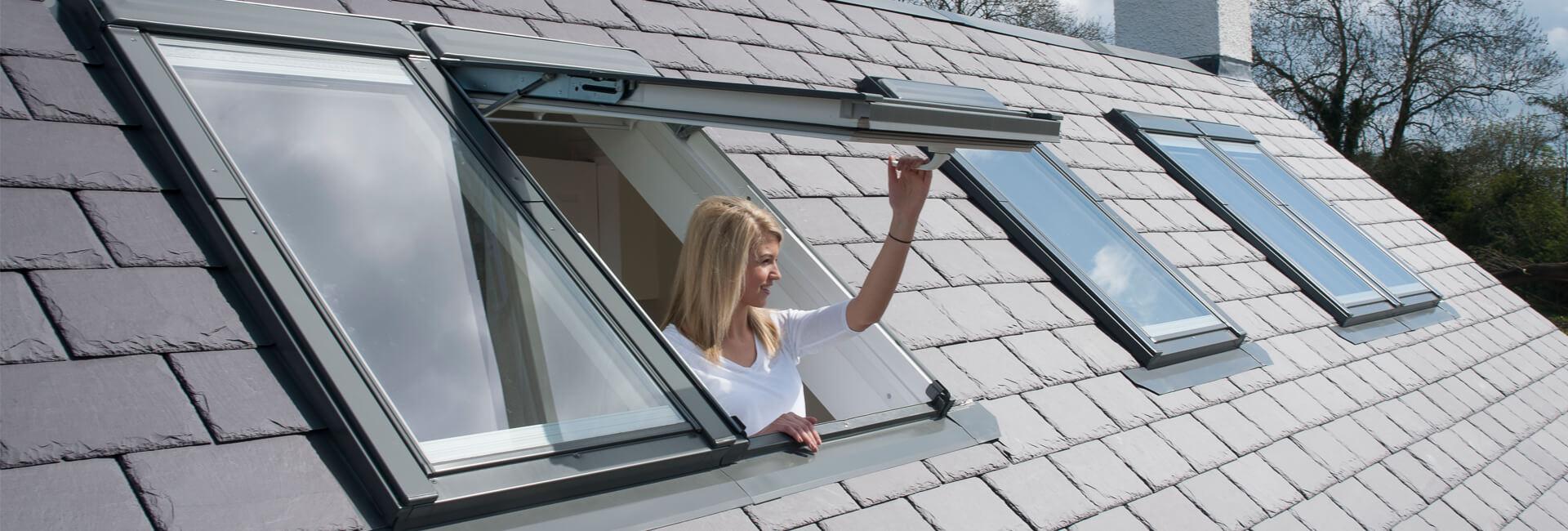 okno na dach duze