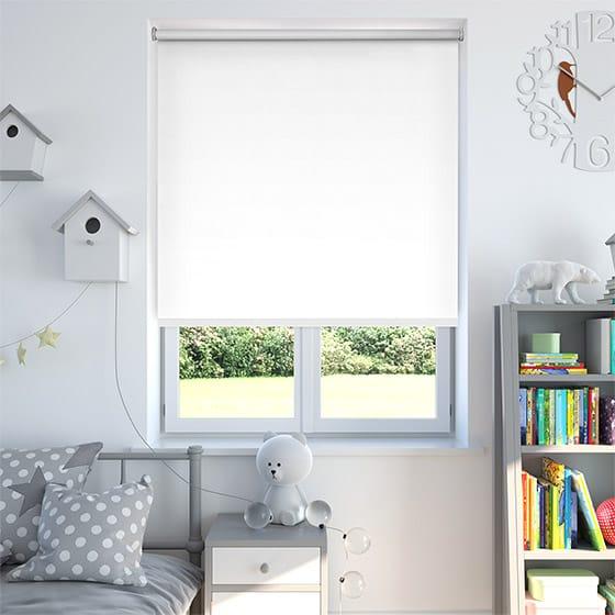 białe okna roleta